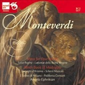 Monteverdi: Mass Four Voices; Ninth Book of Madrigals / I Solisti di Milano