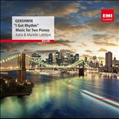 Gershwin: Music for Two Pianos / Katia & Marielle Labeque, pianists