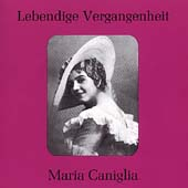 Lebendige Vergangenheit - Maria Caniglia