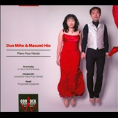 Stravinsky: Rite of Spring; Hindemith: Sonata for Piano Four Hands; Ravel: Rhapsodie Espagnole / Duo Miho and Masumi Hio
