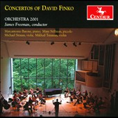 The Concertos of David Finko / Marcantonio Barone, piano; Mimi Stillman, piccolo; Mikhail Tsinman, violin