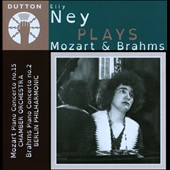 Elly Ney Plays Mozart: Piano Concerto no 15; Brahms: Piano Concerto no 2 / Elly Ney, piano