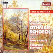 Schoeck: Violin and Piano Music / Barritt, Edwards