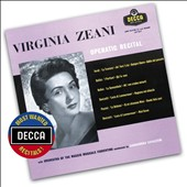 Operatic Recital - Arias by Verdi; Bellini; Donizetti; Puccini / Virginia Zeani, soprano (24-bit/192 kHz transfer)
