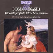 Bigaglia: Sonate per flauto dolce / I Fiori Musicali