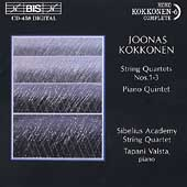 Kokkonen: String Quartets, Piano Quintet / Sibelius Academy