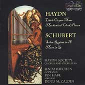 Haydn: Little Organ Mass, etc;  Schubert / McCaldin, et al