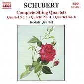 Schubert: Complete String Quartets Vol 4 / Kodály Quartet
