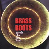 Brass Roots: Purple Cha-Cha Heels *