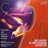 Cz&#225;rd&#225;s - Monti, Strauss, Liszt, etc / William Garcin, et al
