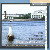 Haydn, Prokofiev, Shostakovich / Nevsky String Quartet