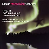 Sibelius: Symphonies 2 and 7 / Paavo Berglund, London PO