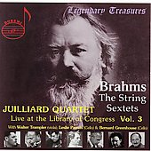 Live at the Library of Congress Vol 3 / Juilliard Quartet