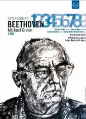Beethoven: Symphonies nos 1 - 9 / Michael Gielen, SWR SO [3 DVD]