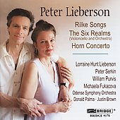 Lieberson: Rilke Songs, Six Realms, etc / Serkin, et al