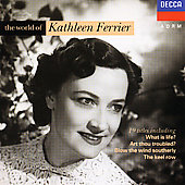 World Of Kathleen Ferrier V.1