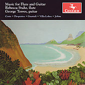 Music for Flute and Guitar - Villa-Lobos, etc / Stuhr