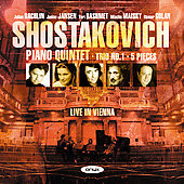 Shostakovich: Piano Quintet, etc / Rachlin, Jansen, et al