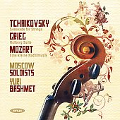Tchaikovsky: Serenade for Strings;  Grieg, Mozart / Bashmet, Moscow Soloists