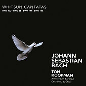 Bach: Whitsun Cantatas / Koopman, Schlick, York, Wessel, Mertens, et al