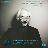 Johann Sebastian Bach: Cantatas, Vol. 44