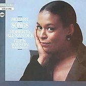 Mozart: Aria & Lieder Collection / Roberta Alexander