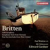 Britten: Works for Orchestra / Gardner/BBC PO