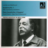 Pierre Monteux in New York / Beethoven Sym. 7,