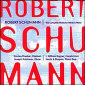Schumann: Complete Works for Winds and Piano