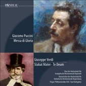 Puccini: Messa di Gloria; Verdi: Stabat Mater, Te Deum / Karl Rathgeber