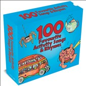 Various Artists: 100 Favourite Activity Songs and Rhymes