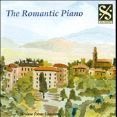 The Romantic Piano: A View from Sienna - works by Beethoven, Brahms, Chopin, Debussy, Faur&eacute;, Grieg, Handel, Liszt et al. / Wilhelm Backhaus, R. Ganz; Vlad de Pachemnn