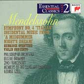 Take 2 - Mendelssohn: Symphony no 4, etc / Ormandy, et al