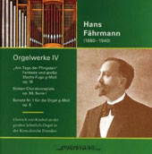 Hans Fährmann: Organ Works, Vol. 4