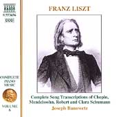 Liszt: Complete Piano Music Vol 6 / Joseph Banowetz