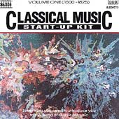 Classical Music Start-Up Kit Vol 1 {1500-1825}