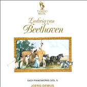 Beethoven: Easy piano works, Vol. 1 / Joerg Demus, piano