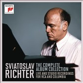 Sviatoslav Richter: The Complete Album Collection - includes the complete, legendary 1960 Carnegie Hall recordings [18 CDs]