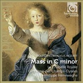 Mozart: Mass in C minor / Christiane Oelze, Jennifer Larmore, Scot Weir, Peter Kooy. Philippe Herreweghe