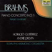Classics - Brahms: Piano Concerto no 1 / Guti&eacute;rrez, Previn