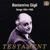 Beniamino Gigli - Songs (1954-1955)