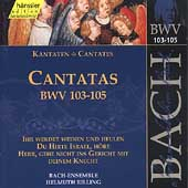 Edition Bachakademie Vol 33 - Cantatas BWV 103-105 / Rilling