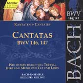 Edition Bachakademie Vol 45 - Cantatas BWV 146-147 / Rilling
