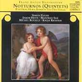 Hoffmeister: Notturnos (Quintets) / Fuchs, Sax, Hefti, et al