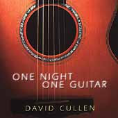 David Cullen: One Night, One Guitar