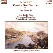 Mozart: Complete Piano Concertos Vol 1 / Jand&ouml;, Ligeti