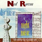 Rorem: Day Music, Night Music / Laredo, Carlyss, Schein