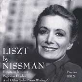 Liszt: Sonata in b minor, Rhapsodie, etc / Barbara Nissman