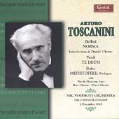 Toscanini Broadcast Legacy - Bellini, Verdi, Boito / NBC SO
