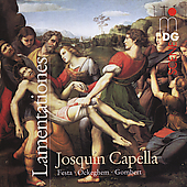 SCENE  Lamentationes / Josquin Capella